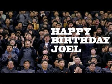 imagenes de happy birthday joel happy birthday joel youtube