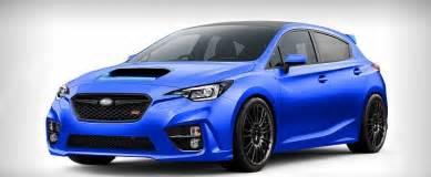 A Subaru Impreza 2018 Subaru Impreza Wrx Sti Rendered As A Hatchback