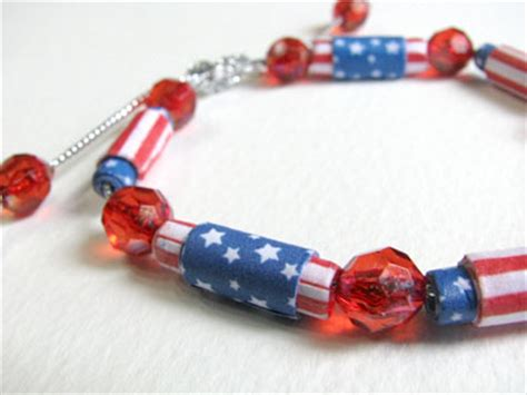 Make A With Stripes Jewelry by How To Make 4th Of July Paper I Paper
