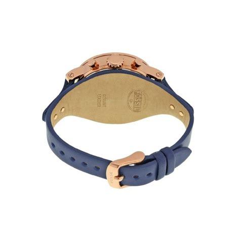 Es4113 Fossil Boyfriend Navy fossil s es3838 original boyfriend chronograph navy leather navy blue gold