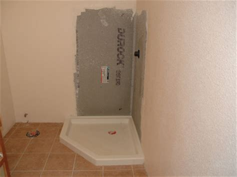 how to install an acrylic shower tray and stall diy