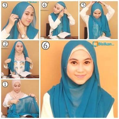 Tutorial Hijab Simple Segitiga Paris | latest hijab tutorial segitiga simple 2016 17 hijabiworld