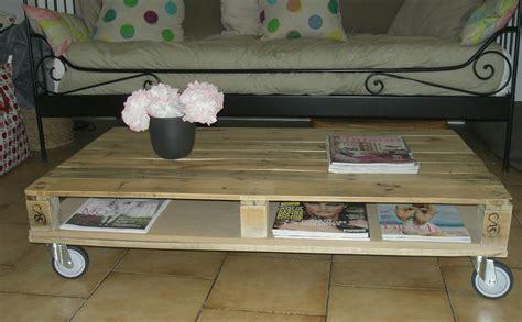 Tuto Table Basse En Palette by Tuto Fabriquer Une Table Basse En Palettes Loisirs