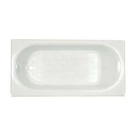 porcelain enameled steel alcove tubs bathtubs
