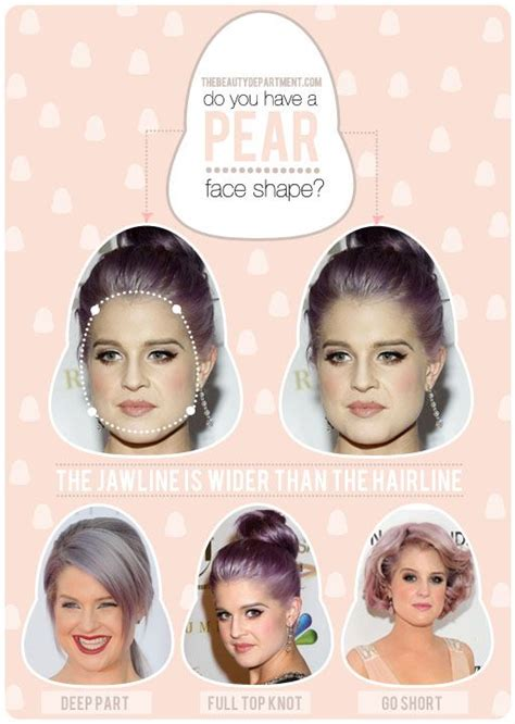 hairstyles match shape 70 best images about best styles face shape on pinterest