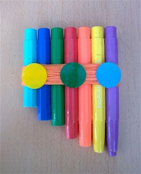 proyecto de instrumentos musicales con material reciclado en primaria reciclagem no meio ambiente o seu portal de artesanato