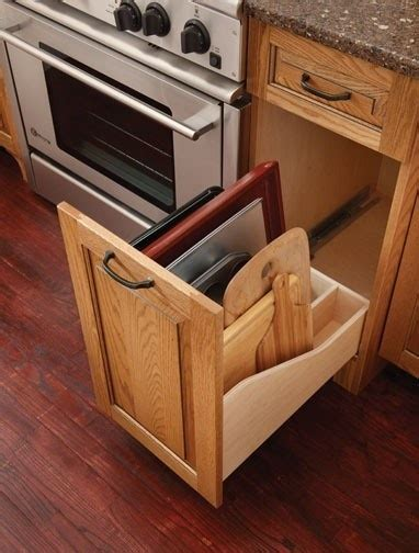 replacement cutting boards for kitchen cabinets 13 best cookie sheet storage images on pinterest