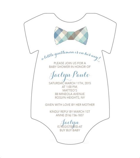 templates for onesies invitations onesie template 21 free psd pdf format download free
