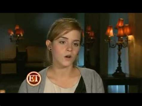 emma watson youtube interview emma watson interview on harry potter and the half blood