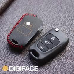 Kia Cerato Key Leather Car Key Holder Cover Keychain Kia 2013