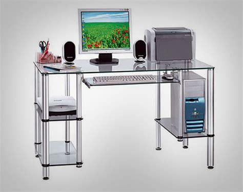 Glass Computer Desk Furniture Gallery Glass Computer Desk Design