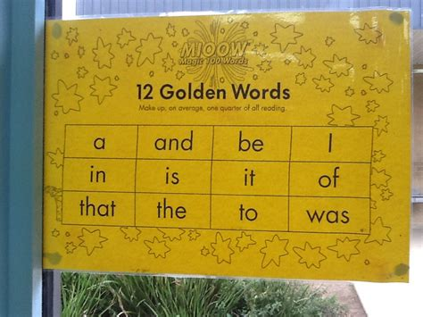 Golden Words by High Frequency Words The Hungry Learners