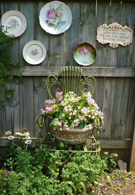vintage garden ideas how to beautify your house outdoor wall d 233 cor ideas