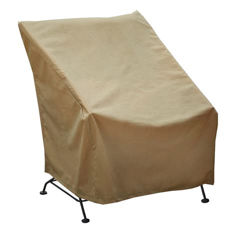 home chair cover seasons sentry high back chair cover cvp01433 the home depot