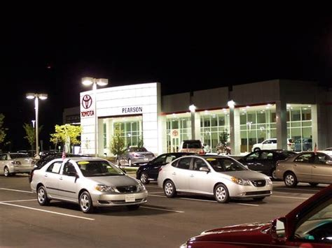 Toyota Dealer In Va Pearson Toyota Newport News Va 23608 Car Dealership