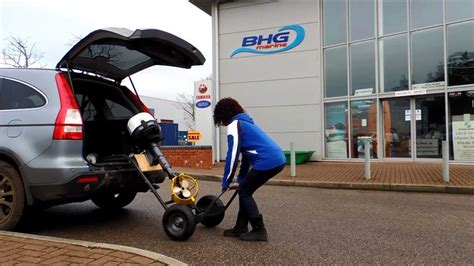 boat engine trolley easy motor toter outboard trolley from bhg marine ltd