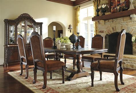 north shore dining room set north shore double pedestal extendable dining room set