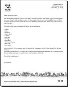 Real Estate Letters Templates new letter