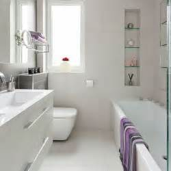 Small Modern Bathrooms Small Modern White Bathroom Bathroom Decorating Housetohome Co Uk