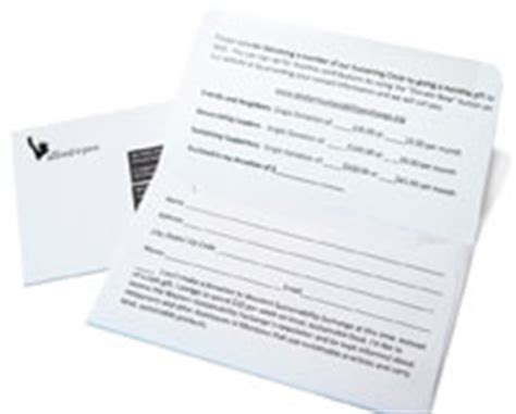 fundraising envelope template