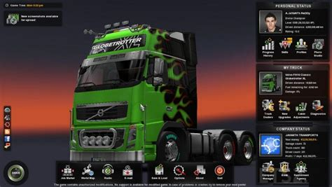 mod xe game euro truck simulator 2 ultimate save by a jayanth reddy ets2 ets2 mod