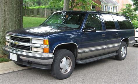 chevrolet suburban chevrolet suburban 7 4 1992