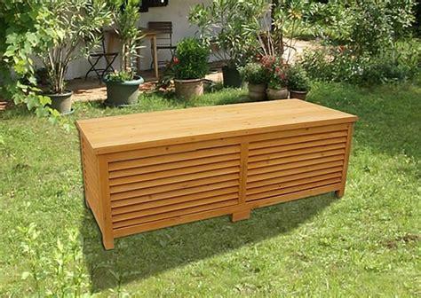 cassapanca in legno da giardino baule cassapanca box in legno per esterno giardino