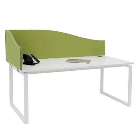 Desk Mounted Dividers by Wave Or Arc Desk Mounted Screen Linking Or Non Linking