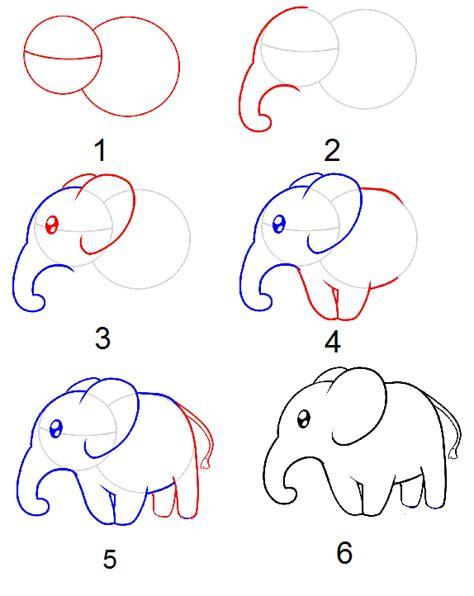 tutorial menggambar gajah resourceful parenting menggambar gajah langkah demi langkah