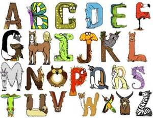 free animal themed alphabet letters draw alphabet letters animals and alphabet