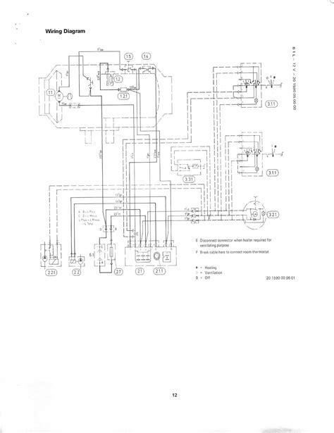 eberspacher d1l wiring diagram 30 wiring diagram images