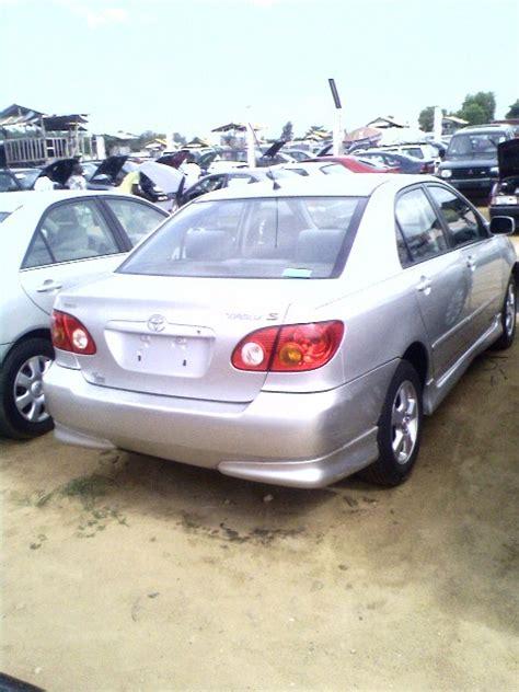Price Of 2003 Toyota Corolla 2003 Toyota Corolla From Cotonou Price 1 3 M Naira See