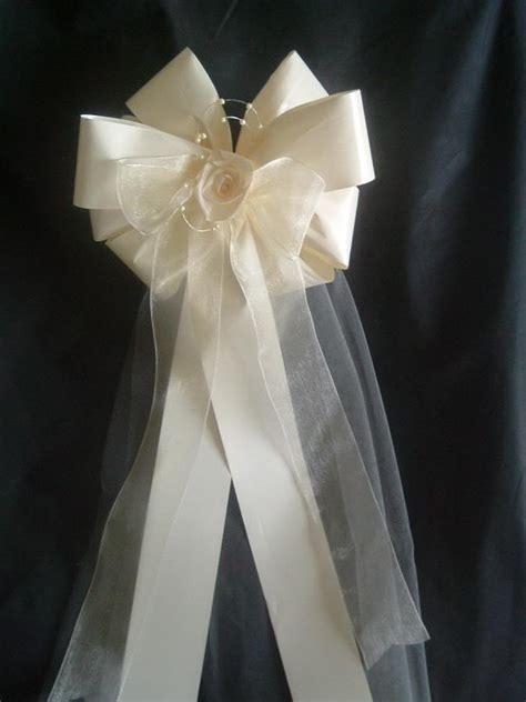 Lovely Wedding Ribbons For Church Pews #6: PewBows1.jpg
