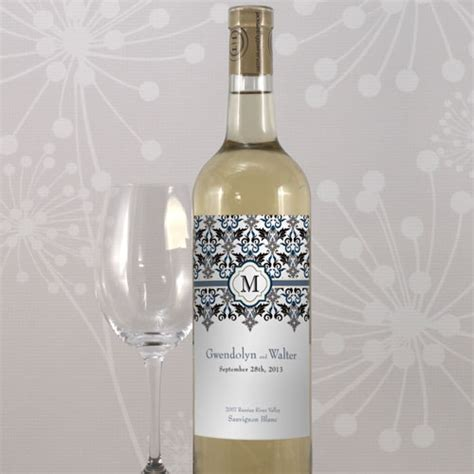 personalized wine label stickers