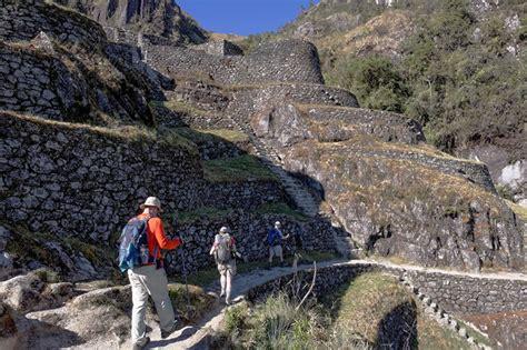 camino inca a qui 233 n est 225 dirigido el camino inca machu picchu