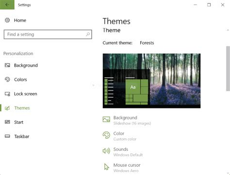 windows 10 themes changer how to change themes in windows 10 creators update