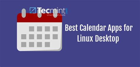 Calendar Desktop App 6 Best Calendar Apps For Linux Desktop