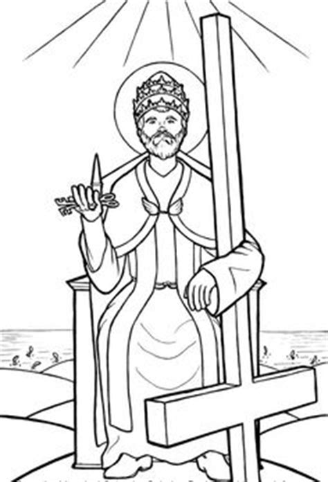 Coloring page of Saint Stephen | Catholic Coloring Pages