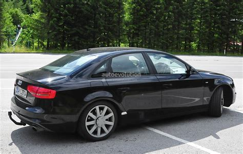 audi a4 2016 2016 audi a4 spyshots reveal new mmi infotainment display