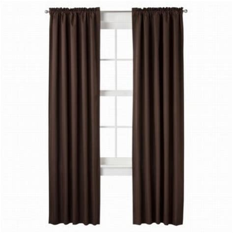 finding the best deals of essential home furnishing room essentials two rich brown sailcloth window panels