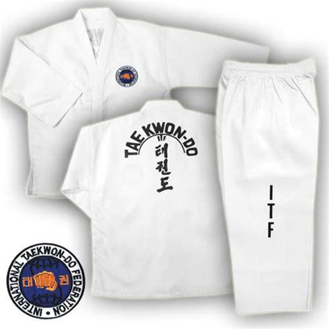 Baju Karate Nike Peoples Martial Arts Taekwondo Uniforms
