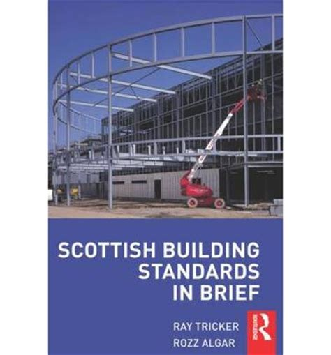 building regulations in brief books scottish building standards in brief tricker