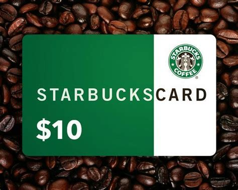 Free 10 Gift Card - free starbucks 10 gift card no gin sorry gift cards listia com auctions for