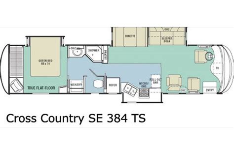 country rv floor plans 2006 sportscoach cross country se photos details