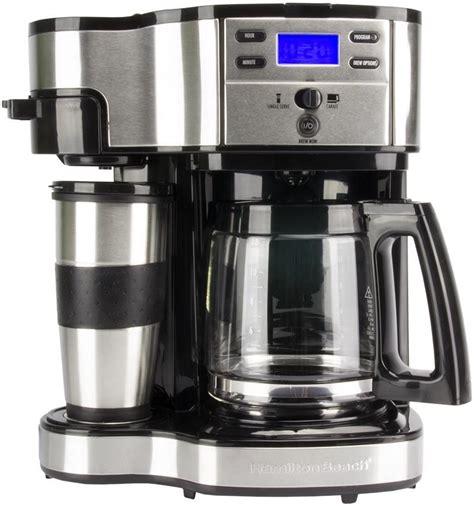 Hamilton Beach 2 Way Single Serve or 12 Cup Programmable Coffee Maker   49980Z 722651290868   eBay