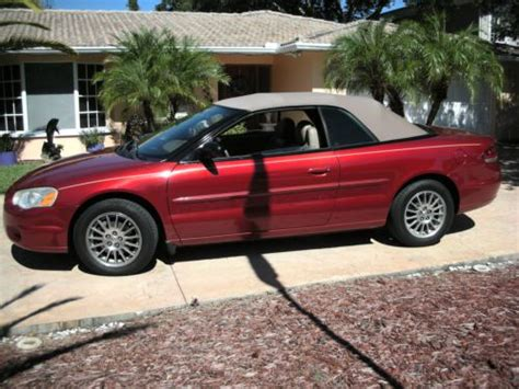 2002 Chrysler Sebring Convertible Parts by Chrysler Sebring For Sale Find Or Sell Used Cars Trucks