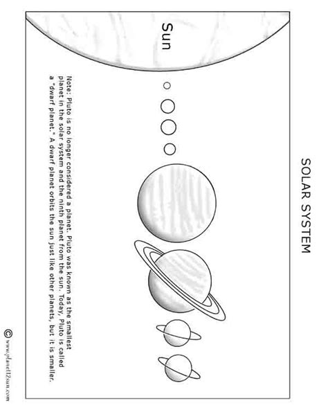 blank solar system diagram blank diagram of our solar system not lossing wiring