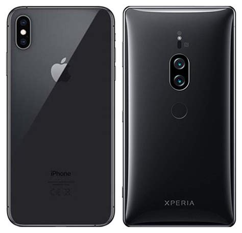 compare smartphones apple iphone xs max vs sony xperia xz2 premium cameracreativ