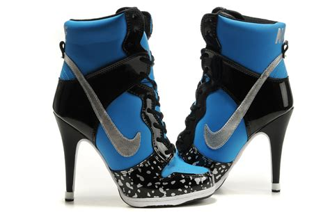 nike high top heels gangster nike high heels shoes image 447703 on favim