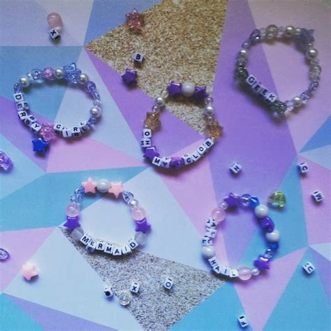 letter bead bracelets pastel alphabet bead bracelets 183 how to bead a glass bead